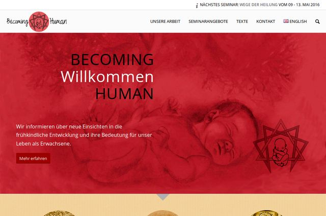 becoming-human.eu Webseite Screenshot